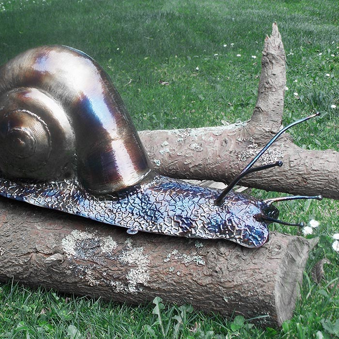 Nigel Wills Metal Sculptures in Cornwall - Garden