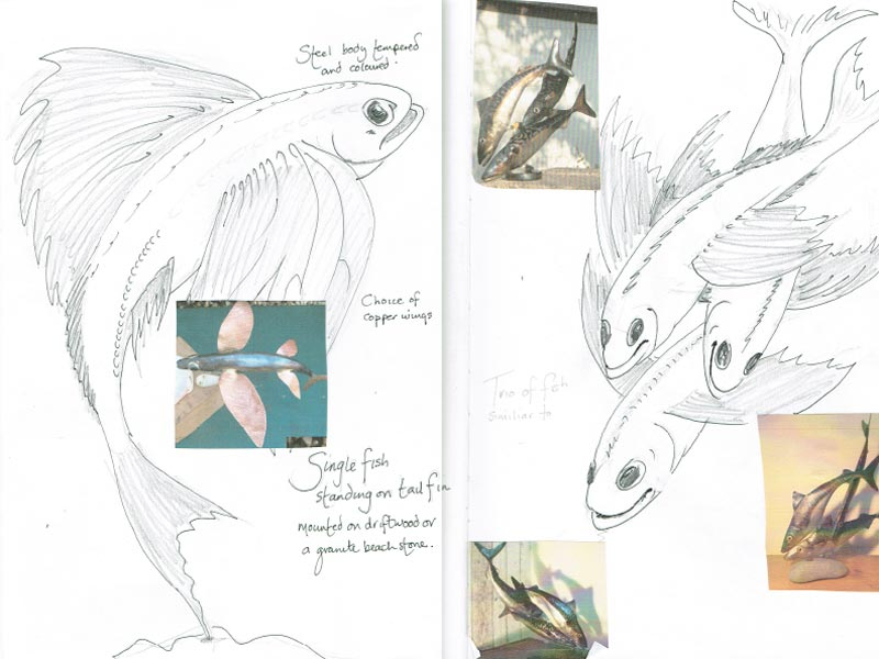 Design Your Own Flying Fish Commision Sketch