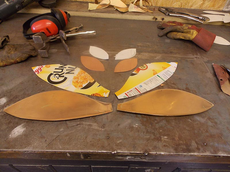 Design Your Own Flying Fish Commision - Wing Templates