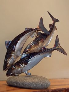 Return to Driftwood Galleries - Trio of Mackerel
