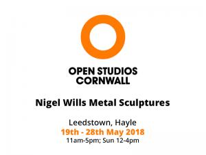 Open Studios Cornwall – 19th until 28th May